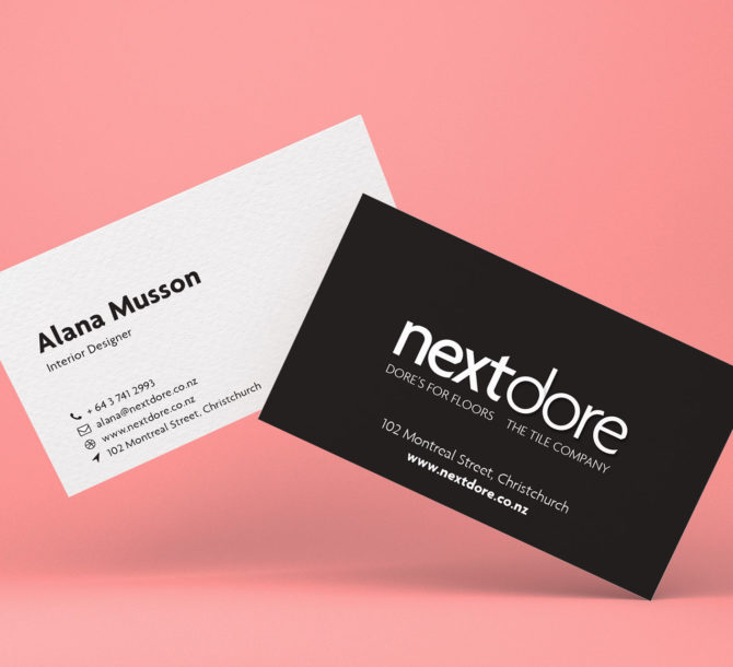 Graphic design jimmy flynn nextdore business cards reheart Choice Image